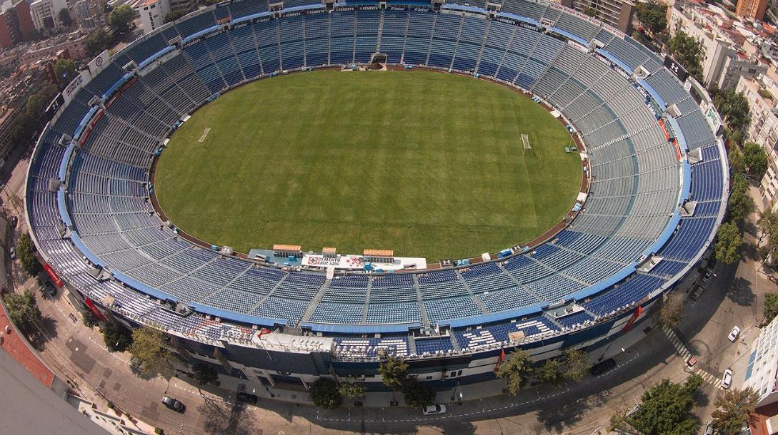 Estadio Azul Vsito desde un Dron en las alturas