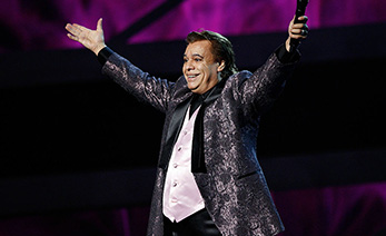 LAS VEGAS - NOVEMBER 05:  Juan Gabriel performs onstage at the 10th Annual Latin Grammy Awards held at Mandalay Bay on November 5, 2009 in Las Vegas, Nevada.  (Photo by Michael Tran/FilmMagic)