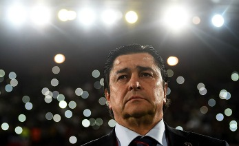 during the FIFA Club World Cup Semi Final match between Cruz Azul and Real Madrid at Le Grand Stade de Marrakech on December 16, 2014 in Marrakech, Morocco.
