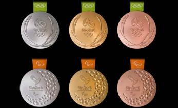medallas olimpicas oficial