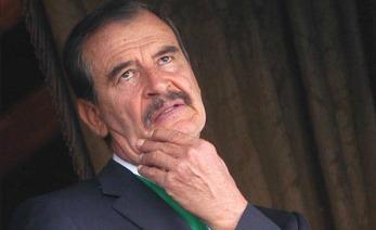 Vicente Fox pensando