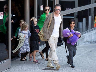 ¿Se consuela Angelina en brazos de Johnny Depp?