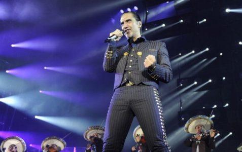 Ofrecerá Alejandro Fernández concierto gratuito en el Zócalo