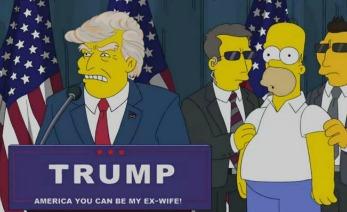 Trump Simpson PORTADA