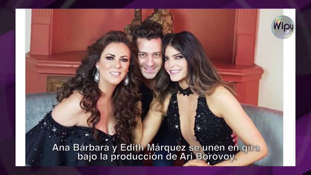 """Anuncian Edith Márquez y Ana Bárbara gira internacional con """"Par de reinas"""""""