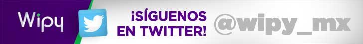 Síguenos en Twitter @wipy_mx