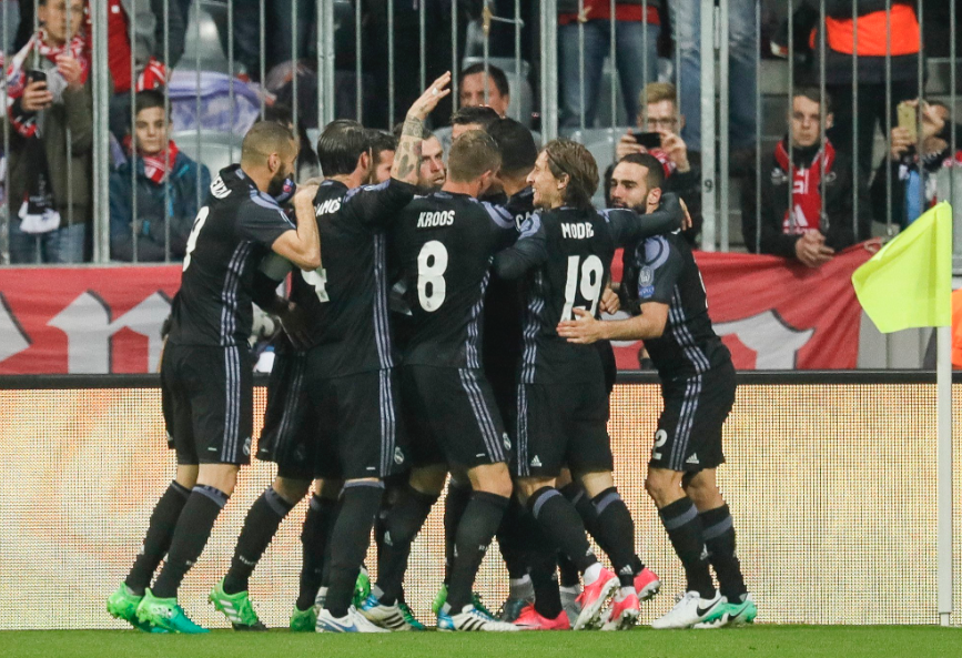 Gana Real Madrid a Bayern Munich