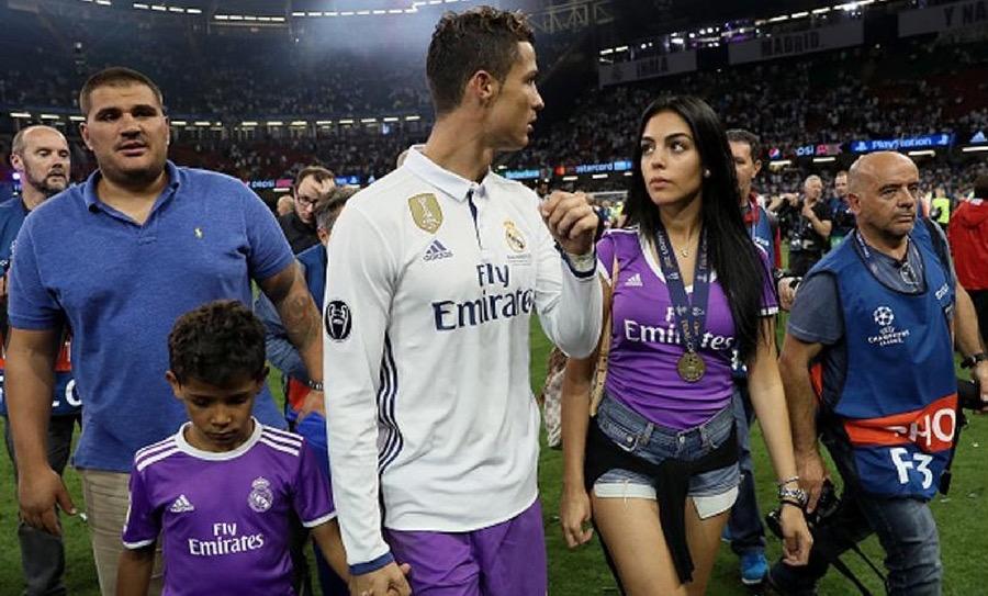 Ronaldo novia