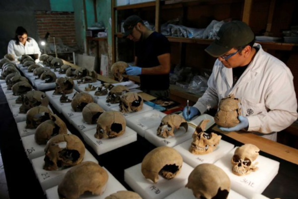 Misterioso hallazgo en México que cuestiona los sacrificios aztecas (fotos)