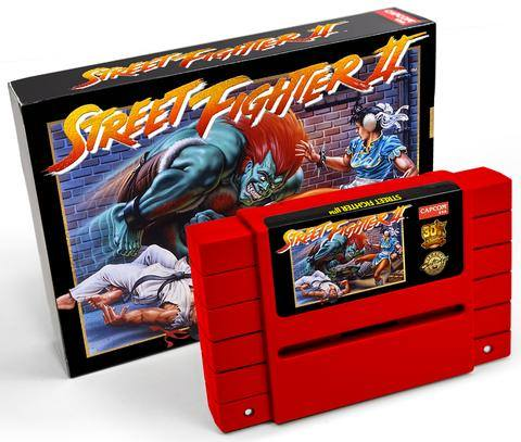 Capcom relanza Street Fighter II en cartucho de SNES