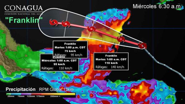 Protección Civil de Matamoros en sesión permanente por tormenta tropical