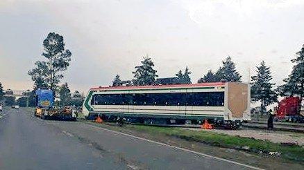 Desmienten supuesta caída de un vagón del Tren Interurbano