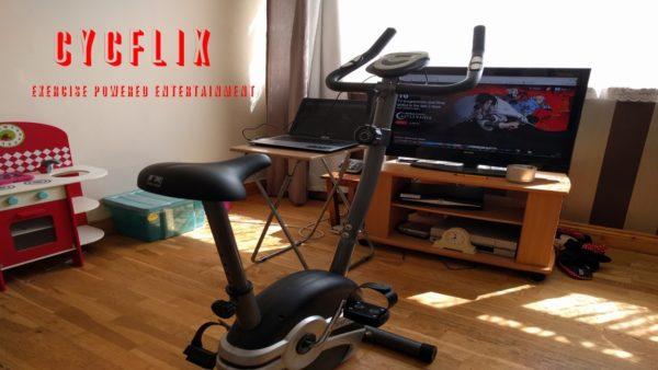 Cycflix, la bicicleta que obliga a pedalear para ver las series favoritas