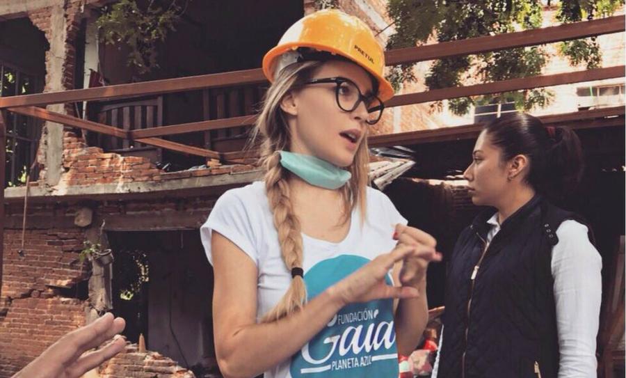 Belinda ayudará a la reconstrucción en Morelos tras el terremoto