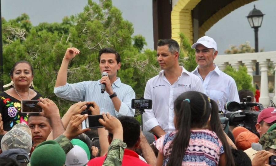 El presidente Peña Nieto ha reiterado transparencia en la entrega de los apoyos.