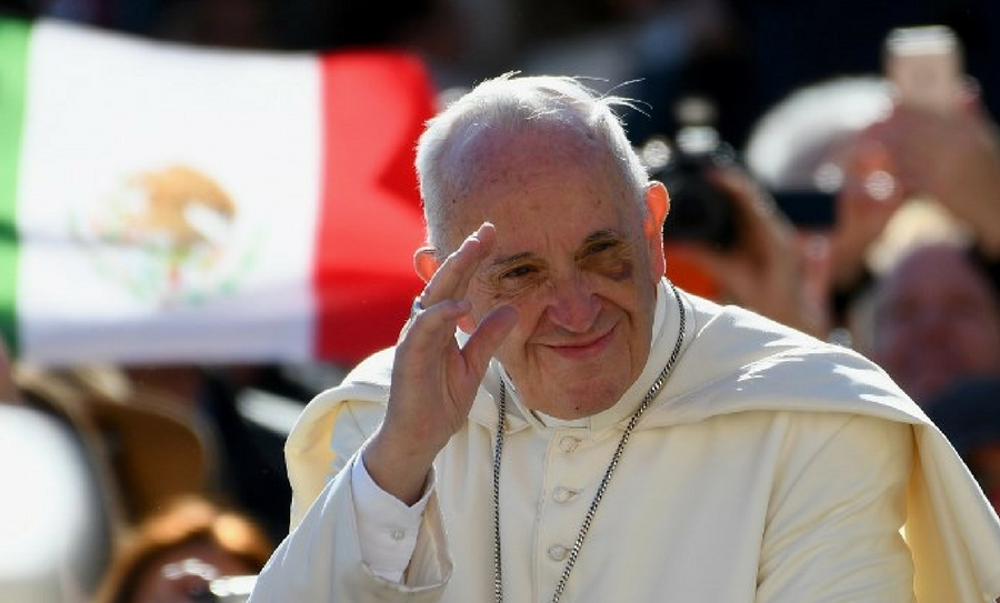 El Papa Francisco demostró su solidaridad con el pueblo mexicano y mandó sus oraciones para los afectados.