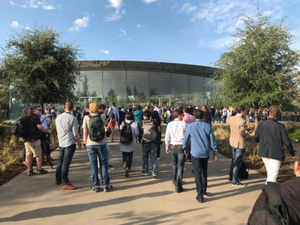 Te presentamos el asombroso Teatro Steve Jobs del Apple Park