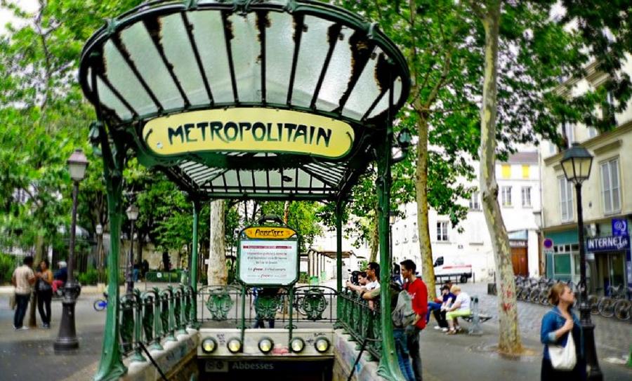 Hombre armado con un cuchillo atacó a un militar, ataques terroristas, ataques terroristas en Europa, Estado Islámico, Estación metro Chatelet, Ataque terrorista París