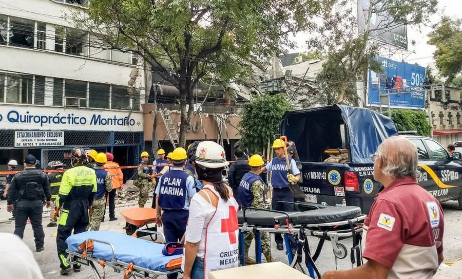 Cruz Roja Mexicana sigue brindando atención por sismo