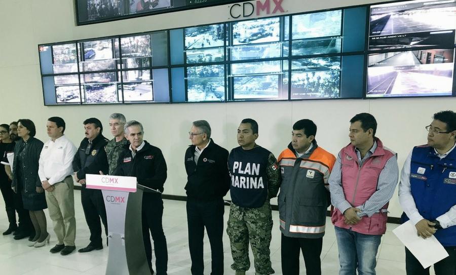 52 personas han sido rescatas en la CDMX tras terremoto