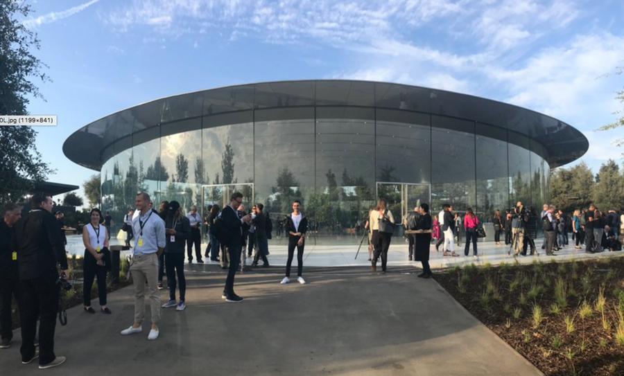 Apple Park abre su puertas