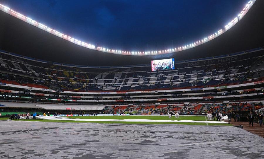 El estadio azteca despu s del temblor wipy for Puerta 1 estadio azteca