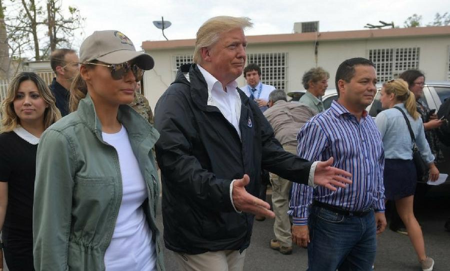 Emergencia en Puerto Rico, Huracán María, Huracán, María, Estadounidenses, Huracán Harvey, Huracán Irma, Donald Trump