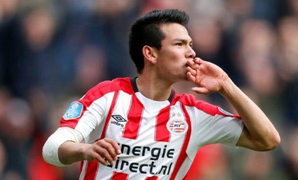 Hirving Lozano es líder goleador en Holanda
