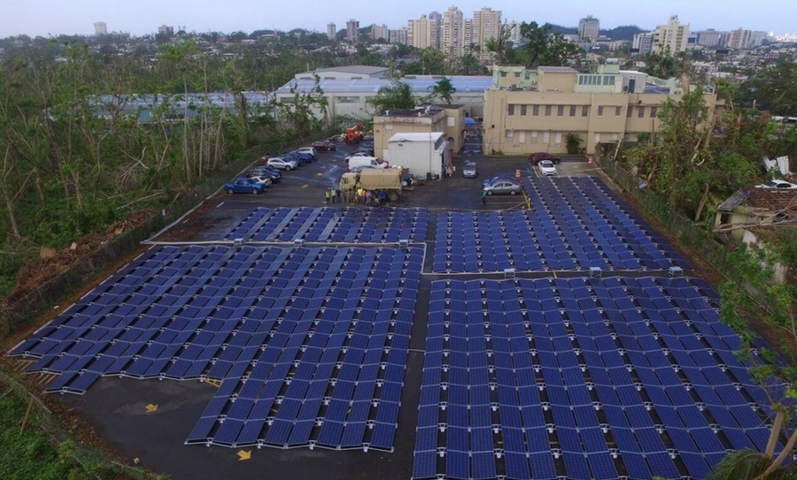 primera microred solar de Tesla, Elon Musk, Tesla, Puerto Rico, Huracán María