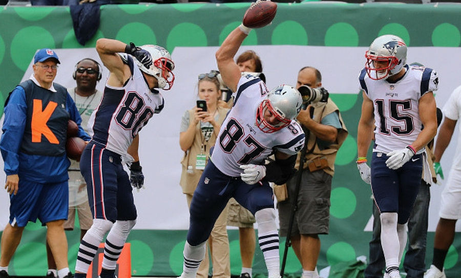#ChrisHogan #Lesión #Patriotas
