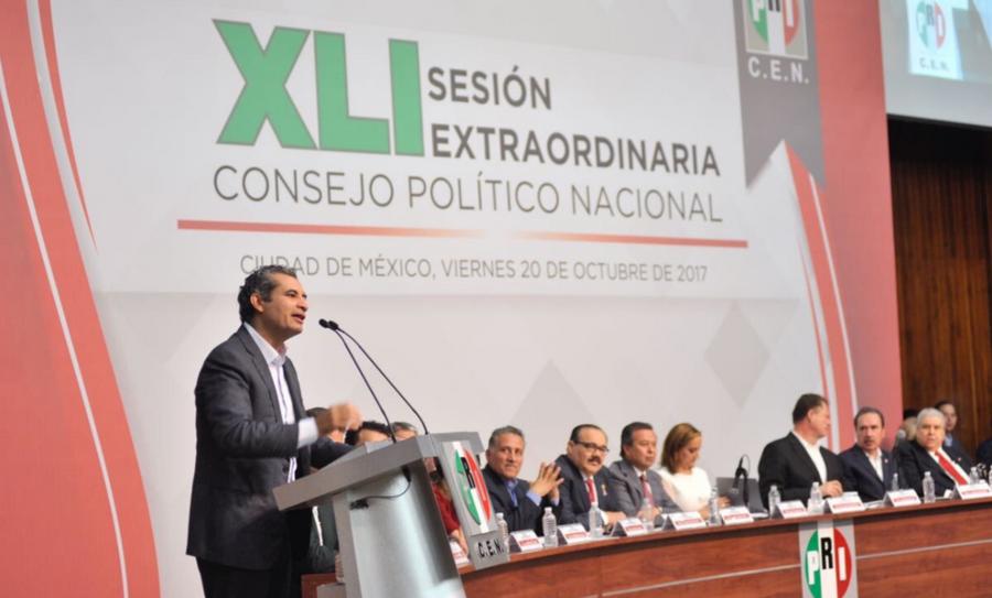 PRI elegirá al candidato presidencial, Convención de Delegados, Convención de Delegados del PRI, elecciones del 2018, elecciones presidenciales