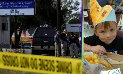 Ryland Ward es el niño de 5 años que sobrevivió al tiroteo en Texas a pesar de recibir cuatro disparos, la matanza dejó 26 víctimas.