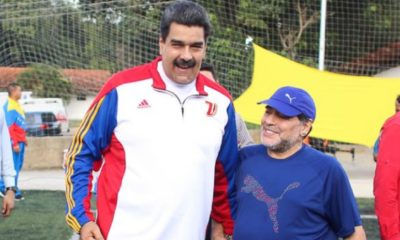 Nicolas Maduro, Diego Armando Maradona, Maradona refrendó su apoyo a Maduro, Maradona y Maduro, Maradona apoyó a Maduro, crisis en Venezuela
