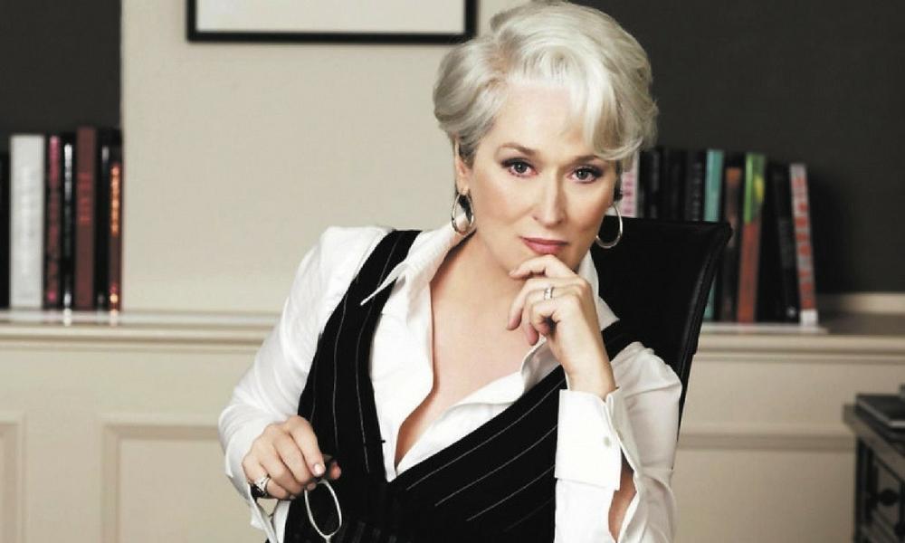 la verdadera Miranda Priestly, Meryl Streep se reunió con la verdadera Miranda Priestly, Meryl Streep, El Diablo viste a la moda, Anna Wintour