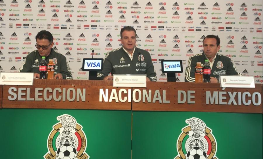 d08b3b2cd2f24 Anuncian los convocados para la Selección Mexicana para el partido ...