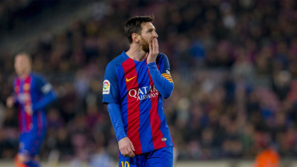 Messi falló tiro penal