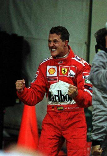 Michael Schumacher campeón de Formula 1