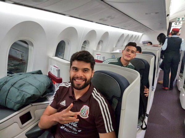 Néstor Araujo jugador de Selección Mexicana