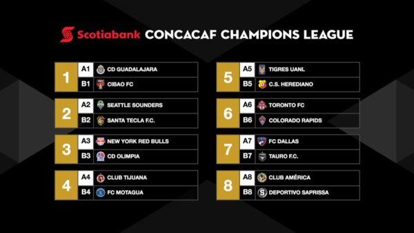 Los equipos mexicanos conocen a sus rivales