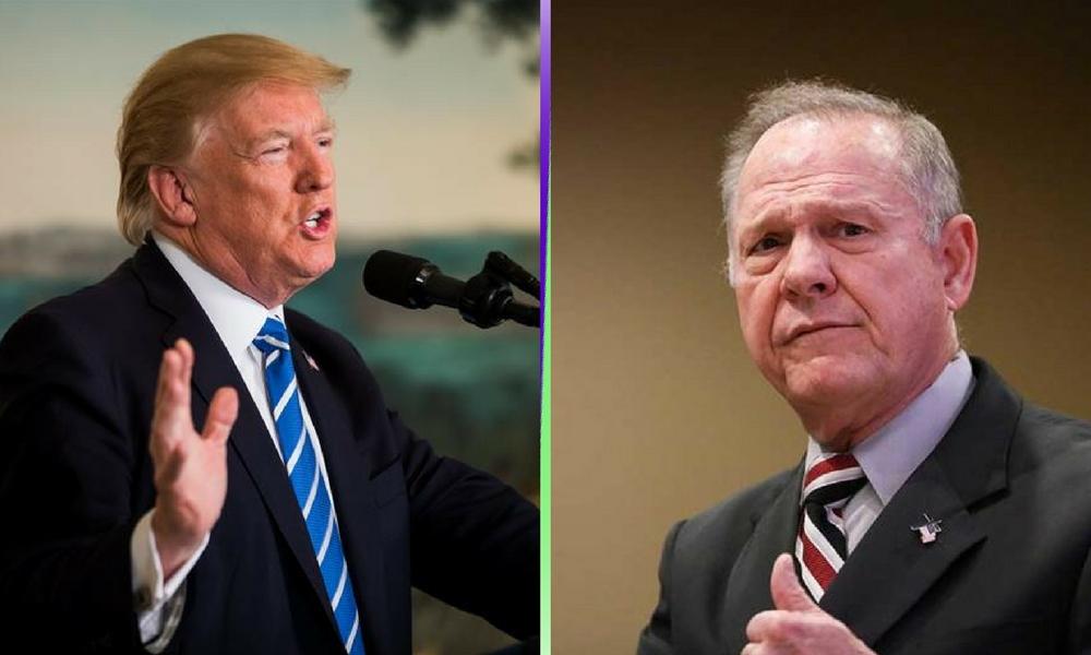 trump apoya a candidato acusado de agresión sexual, Roy Moore acusado de agresionessexuales, acoso sexual en Estados Unidos, Senado de Alabama