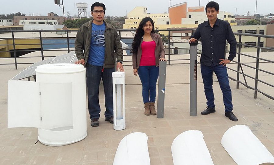 invento para obtener agua potable, agua potable, Universidad Nacional Mayor de San Marcos, YAWA, History Channel