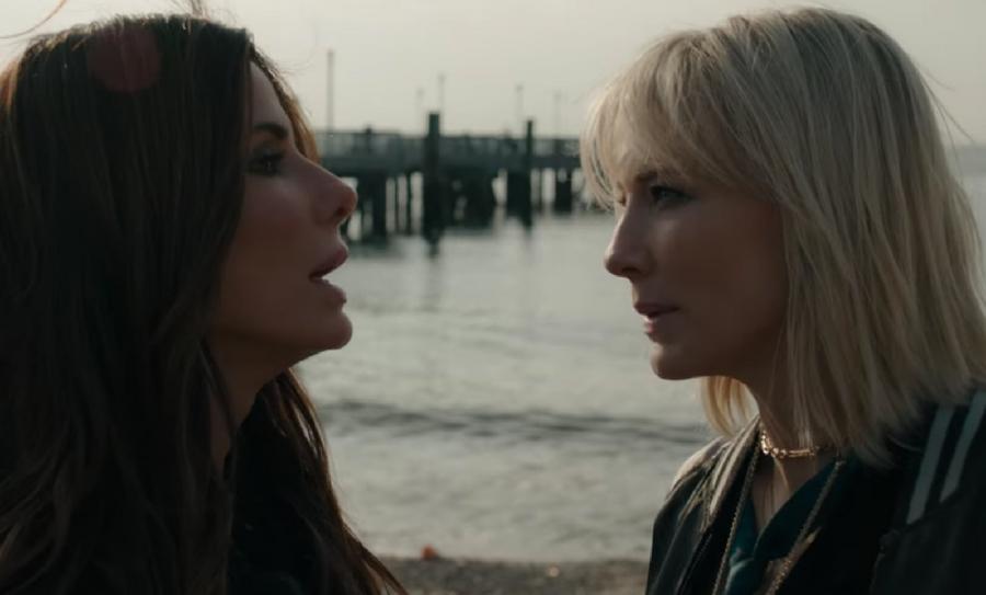 "trailer de Ocean's 8, trailer de ""Ocean's 8"", ""Ocean's 8"" ,Cate Blanchett, Helena Bonham Carter, Anne Hathaway, Sarah Paulson, Rihanna, Mindy Kaling, Sandra Bullock"