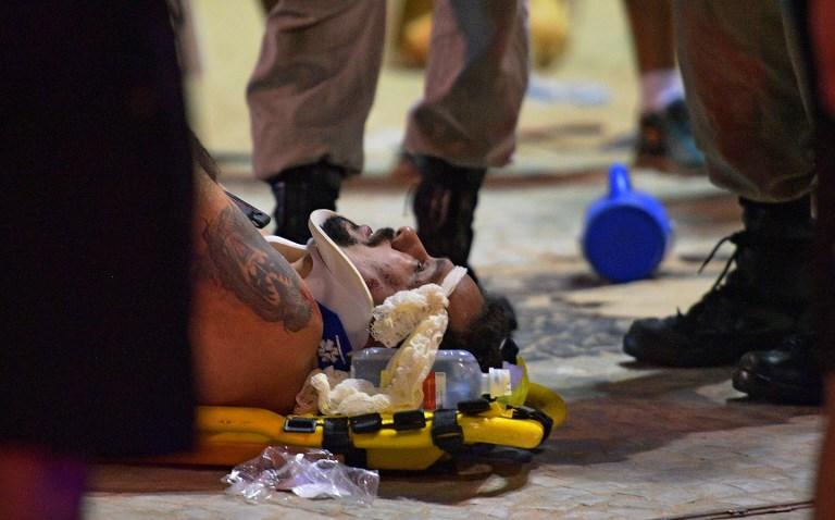Un auto atropelló a una multitud en Río de Janeiro en Brasil, la hipótesis del incidente 000_X28JW