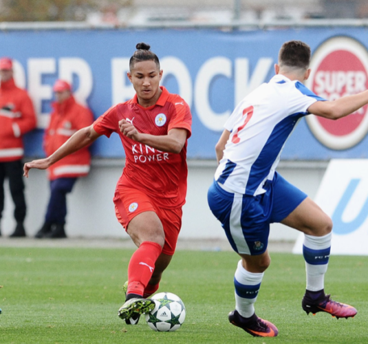 Faiq Bolkiah juega en Leicester