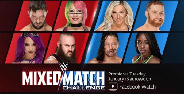 WWE Mix Match Challange