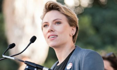 Scarlett Johansson encabeza el movimiento #MeToo
