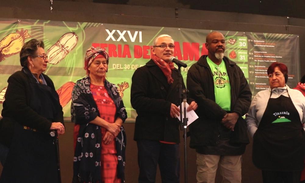 Feria del Tamal en el Museo Nacional de Culturas Populares