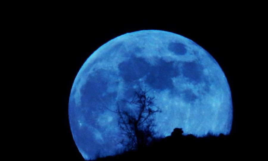 superluna azul, luna azul, súper luna, eclipse lunar