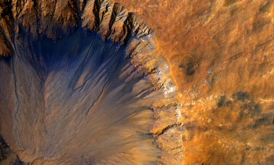 presencia de agua en Marte , NASA, agua en Marte, Marte