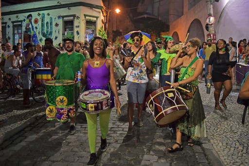 """""""No es no"""": la campaña contra el acoso en el Carnaval de Río de Janeiro 000_Z99KK"""